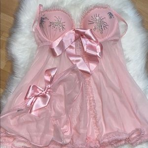 Victoria's Secret Sexy Little Things Pink Babydoll
